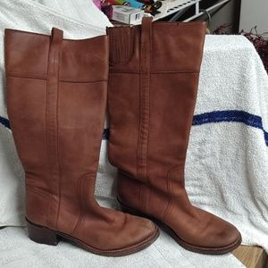 Halogen leather riding boot size 8b